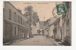 LONGNES - RUE DE L'EGLISE - 78 - Otros Municipios