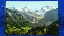 Interlaken Heimwehfluh, Eiger, Mönch Und Jungfrau Switzerland - BE Berne