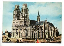 45 - ORLEANS . CATHÉDRALE SAINTE-CROIX, D'APRÈS UNE GRAVURE ANCIENNE - Réf. N°10147 - - Orleans