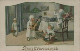 Pauli EBNER - Bonne Et Heureuse Année - En L'état - Ebner, Pauli