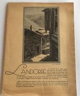 L'ANDORRE - Histoire