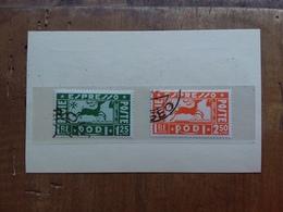 COLONIE ITALIANE - EGEO - Espressi Nn. 1/2 Timbrati + Spese Postali - Egeo