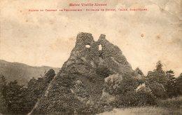Ruines Du Chateau De FREUNDSTEIN - France