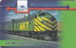 BULGARIA - Train M-K-T EMD F-7A Set #77A 1973 , 12/00, Tirage 60,000, 25 U, Used - Bulgarien