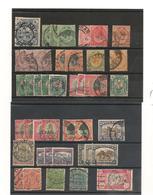 AFRIQUE DU SUD ANNÉE 1910/1961 LOT DE TIMBRES OBLITÉRÉS CÔTE : 27,00 € - Other