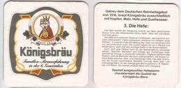 Königsbräu Oggenhausen Familien Brauerfahrung In Der 6. Generation , Die Hefe - Beer Mats