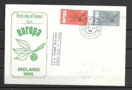 1965 - FDC - 139 - IRLANDE - 1965
