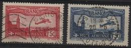 FR PA 1 - FRANCE PA 5/6 Obl. - 1927-1959 Oblitérés
