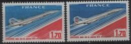 FR PA 100 - FRANCE PA 49 Neufs** Variétés De Couleurs - Aéreo