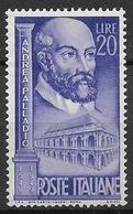 Italy - Italia 1949 Mi. No. 781 - 1946-60: Ungebraucht