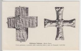 (8659) AK Rom, Roma, Vatikanische Bibliothek, Kreuze, Vor 1945 - Vatikanstadt