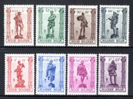 615/622 MNH 1943 - Ambachten. - Belgium