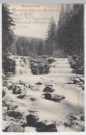 (8722) AK Riesengebirge, Weißwasserfälle Am Weberweg 1907 - Sudeten