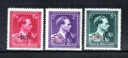 724R/724T MNH 1946 - Z.M. Koning Leopold 3 Met V En Kroon - 1946 -10%