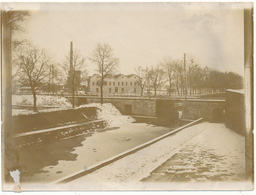 TOURS , SAINT PIERRE DES CORPS - Petite Photo Ancienne 9 X 12 Cm, Le Canal - Tours