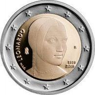 Italia - 2 Euro Leonardo - MONETA DA ROTOLINO - Italien