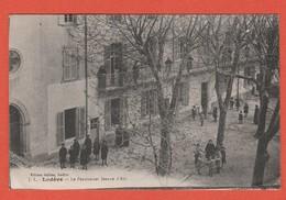 CPA 34 Lodève 34700 Pensionnat Jeanne D' Arc Carte Edition Juillian Écrite 1916 Recto/Verso - Lodeve