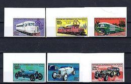 Madagascar 1989 Transport Cars Motor Vehicles MNH IMPERF. Mi.1165 - Transport