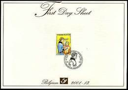 BELG.2001 3010 - FDS - Jeugdfilatelie - Luc Oriënt - Eddy Paape - Strips - FDC