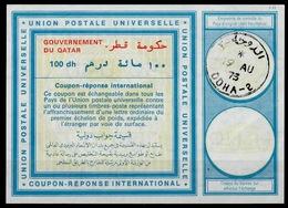 QATAR Vi20 100dh International Reply Coupon Reponse Antwortschein IAS IRC O DOHA 19.08.73 - Qatar