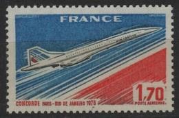 FR PA 34 - FRANCE PA 49 Neuf** Concorde à La Faciale - Poste Aérienne