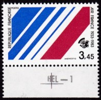 Frankreich, 1983, Mi.Nr. 2405, MNH **,  AIR FRANCE. - Nuovi