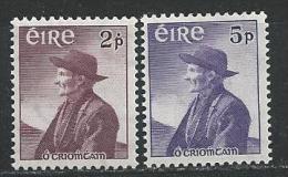 Irlande 1957 N°130/131 Neufs ** MNH Thomas O'Crohan - 1949-... République D'Irlande