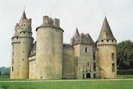 CARTE POSTALE 10CM/15CM ORIGINALE COULEUR DENTELEE : COUSSAC BONNEVAL LE CHATEAU HAUTE VIENNE (87) - France