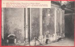 MM. Chanelle Et Brisset Vins En Gros Nevers Cuverie 5 Cuves Verrée Ciment Armé Demay Frères Reims Rue Payen Parfait état - Nevers