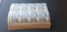 Tunisie Yvert 292** Bloc De 8 - Unused Stamps