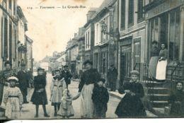 N°5713 T -cpa Tourouvre -la Grande Rue- - France