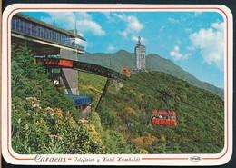 °°° 19225 - VENEZUELA - CARACAS - TELEFERICO Y HOTEL HUMBOLDT °°° - Venezuela