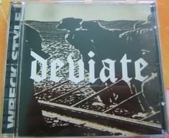 CD HARDCORE - DEVIATE / WRECK STYLE - Hard Rock & Metal