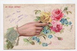 - CPA FLEURS - Je Vous Aime ! - Série 1654 - - Flores