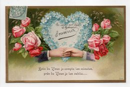 - CPA FLEURS / GAUFRÉES / RELIEF - Série 7779 - - Flores