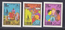 LIBAN AERIENS N°  478 à 480 ** MNH Neufs Sans Charnière, TB (D9316) Année Des Droits De L'Homme - 1968 - Libanon