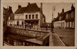 62-GUINES...LE BASSIN....CPA ANIMEE - Guines