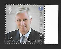 Belg. 2020 - Le Roi Philippe A 60 Ans - Nuovi
