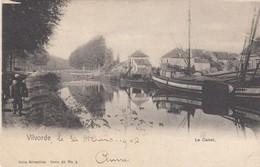 VILVOORDE / HET KANAAL  1902 - Vilvoorde