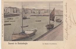 BLANKENBERGE / VISSERSHAVEN  / VISSERSBOOT  B.19 /  1900  PRECURSEUR - Blankenberge