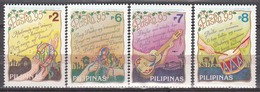 Philippines 1995 Instruments  Michel 2566-69 MNH 26090 - Musik