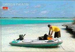 1 AK Kiribati * Orona Island (früher Hull Island) - Das Zweitgrößte Atoll Der Kiribatischen Phoenixinseln * - Kiribati