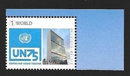 Belg. 2020 - 75 Ans Des Nations Unies ** - Nuovi