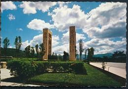 °°° 19227 - VENEZUELA - CARACAS - MONUMENTO A LOS PROCERES - 1971 With Stamps °°° - Venezuela