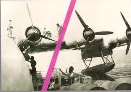 HYDRAVION   HEXAMOTEUR   LATECOERE   631   LE PLEIN D'ESSENCE  A  PORT - ETIENNE (MAURITANIE)  *    LE  05/07/1947  * - Mauritanie