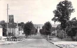 89 - SEIGNELAY : L'Avenue Colbert - CPSM Village ( 1.590 Habitants ) Dentelée Noir Blanc Format CPA Postée 1960 - Yonne - Seignelay
