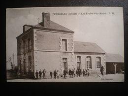 Verneiges Ecoles Et Mairie - France