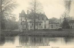 - Eure -ref-B71- Acquigny -  Le Chateau - Côté Du Parc - Chateaux - Carte Bon Etat - - Acquigny