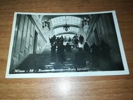 MILANO - STAZIONE CENTRALE - SCALA LATERALE - FOTOGRAFICA - 1931 - Milano (Mailand)