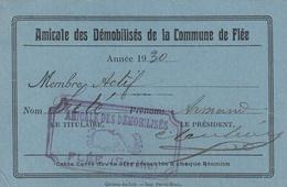 Flée Amicale Des Démobilisés De La Commune - Militaria